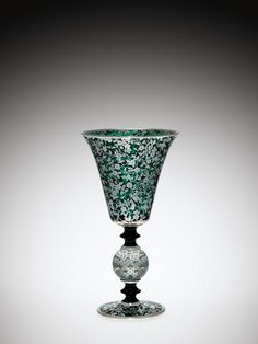 Vase with #Flowers | Corning Museum of #Glass