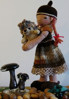 Cecelia and Spike by Dutzie, via Flickr
