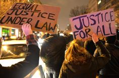 Demonstrators around the country staged die-ins, blocked roadways and marched into stores to protest a New York grand jury's decision to not indic... ( People are just angry and fed up and do not want to move backwards...If we move backwards...Bad things will continue to happen.*