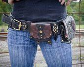 Leather Gunslinger Hip Belt Bag. $145.00, via Etsy.