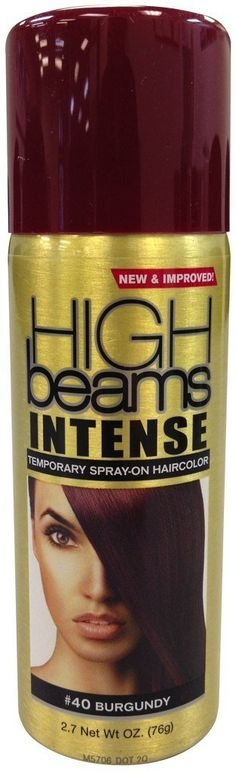 High Beams Intense Temporary Spray On Hair Color - -40 Burgundy 2.7 oz. (Pack of 2) >>> Visit the image link more details. #hairdesign