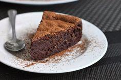Scientifically Sweet: 4-Ingredient Chocolate Mousse Cake (gluten-free)