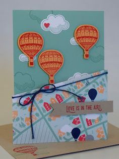 Hello there! Here's another one of the cards we made at my Card Buffet using some brand new products. I used the stamp set Lift Me Up and ...