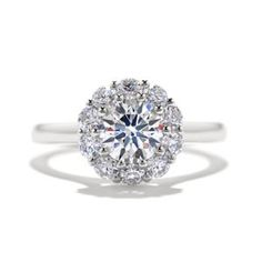 Engagement Ring Photos - Find the perfect engagement ring pictures at WeddingWire. Browse through thousands of photos of engagement rings. Heart Engagement Rings, Round Diamond Engagement Rings, Diamond Rings, Engagement Ideas, Round Cut Diamond, Diamond Cuts, Round Diamonds, Wedding Jewelry, Wedding Rings