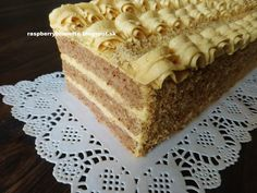 Czech Recipes, Ethnic Recipes, Czech Desserts, High Sugar, Sweet Cakes, Sweet Recipes, Tiramisu, Bakery, Food And Drink