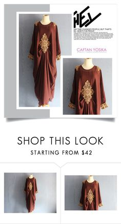 """""""Caftan Yosika 17"""" by amra-mak ❤ liked on Polyvore featuring caftanyosika"""