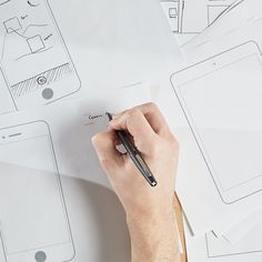Sometimes you just have to draw it out! Print out these templates for prototyping your next mobile, tablet, or desktop project.