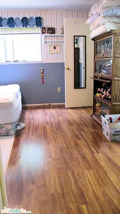 DIY Home: Master Bedroom Update and Makeover - Flooring