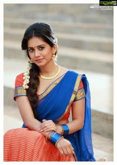 Nabha natesh erotic cleavage queen Bollywood and tollywood with her curvy body show. Hot and sexy Indian actress very sensuous thunder thigh. Beautiful Girl Indian, Most Beautiful Indian Actress, Beautiful Girl Image, Beautiful Saree, Beautiful Images, Half Saree Designs, Indian Beauty Saree, Indian Sarees, Indian Models