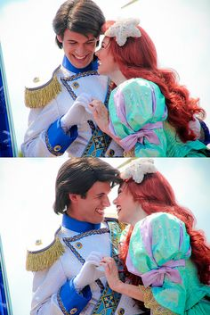 Ariel and Prince Eric by abelle2, via Flickr