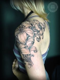 Image result for half sleeve tattoos girls