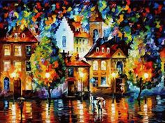 Leonid Afremov Luxemburg Night Oil Painting Reproductions for sale Oil Painting On Canvas, Painting Prints, Canvas Wall Art, Canvas Prints, Painting Art, Oil Painting Reproductions, Colorful Paintings, Leonid Afremov Paintings, Oil Paintings