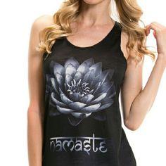 Black printed tshirt A peace lover? NAMASTE!! Tops Tees - Short Sleeve