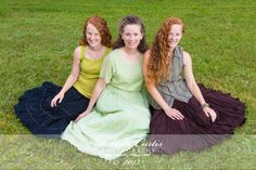 Mother and daughters portraits ©2013 Rebecca Curtis Photography near Dennysville, Maine www.rebeccacurtisphotography.com