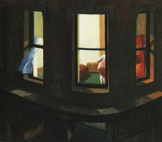 Night Window - Edward Hopper