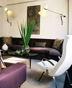 Decoración interior morado | ... Ideas para decorar tu casa: Morado y Berenjena [] Purple & Aubergine