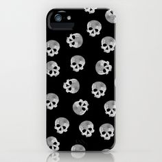 skull Moon iPhone & iPod Case by Msimioni - $35.00