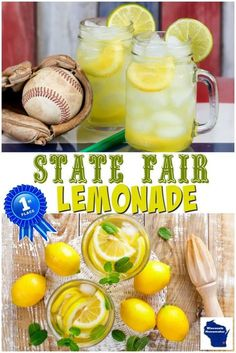 State Fair Lemonade State Fair Lemonade Recipe One of the best beloved summer drink recipes is this State Fair Lemonade recipe. It offers a sweet-tart taste that is so refreshing. The post State Fair Lemonade appeared first on Getränk. Fair Lemonade Recipe, Homemade Lemonade Recipes, Sweet Lemonade Recipe, Homeade Lemonade, Mason Jar Lemonade, Lemonade Beyonce, Best Lemonade, Lemonade From Lemon Juice, Aguas Frescas