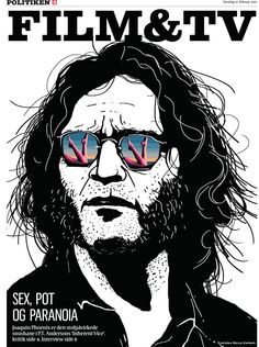 Artwork of Joaquin Phoenix for the movie Inherent Vice