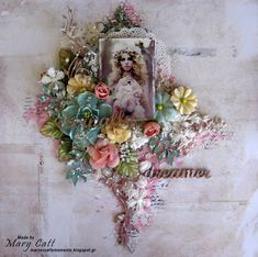 Mary's Crafty Moments: ''Dreamer'' - DT Layout for The Dusty Attic Blog M...
