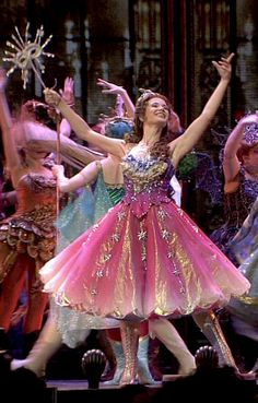 Sierra Boggess's Star Princess dress. It looks even better without the traditional puffy sleeves.