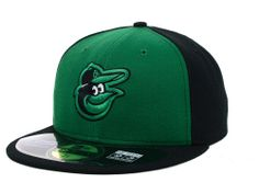 Baltimore Orioles New Era MLB 2014 St. Patrick's Day On Field 59FIFTY Cap