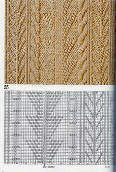 "Photo from album ""Узоры спицами on Yandex. Knitted Dishcloth Patterns Free, Dishcloth Knitting Patterns, Knit Dishcloth, Knitting Charts, Knitting Stitches, Knit Patterns, Stitch Patterns, Knitting Books, Crochet Books"