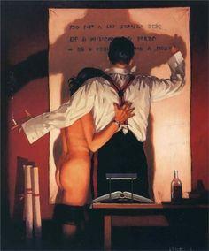 The Great Poet ~ Jack Vettriano