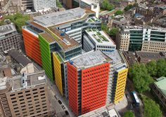 Central St Giles in London (UK) Design: Renzo Piano & Fletcher Priest Architects
