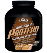 iForce Nutrition Protein Powder - Brown Sugar Maple Oatmeal Cookie: My #1 fav protein powder flavor - so good as a post-workout shake but even better in protein French toast, cookies and bars. YUM!   (Use code JEN30 to get 30% off iFORCE Nutrition Products!)