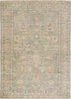 Massimo from the Bennett Collection of 100 percent wool hand-knotted rugs looks coolly sophisticated in shades of Green Milieu and Jadeite. Coupled…