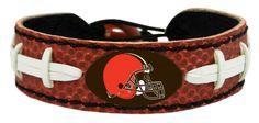 Cleveland Browns Classic NFL Football Bracelet