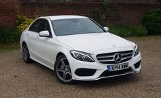 Mercedes-Benz C220 AMG Line Dads getting this soon :3