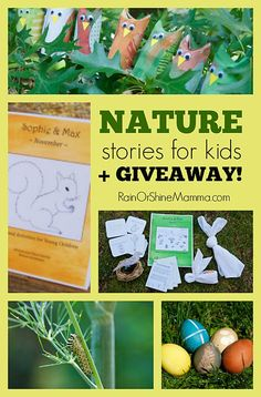 Nature Stories for Kids + GIVEAWAY. Who are Sophie & Max? Enter to win a one-year subscription of the Sophie & Max nature stories series!