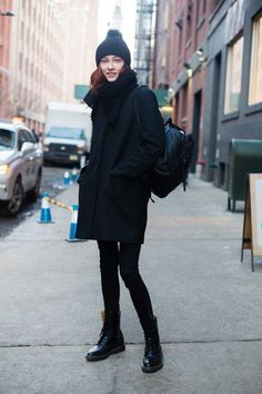 New York Fashion Week Street Style: The Best-Dressed Men Show Us How To Wear Layers