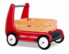 Radio Flyer Ride On Toys for Toddlers. I bet you thought Radio Flyer only made classic red wagons didn't you? They make way more than just a wagon. Best Wagons, Radio Flyer Wagons, Best Toddler Toys, Little Red Wagon, Toys For 1 Year Old, Cool Gifts For Kids, First Birthday Gifts, Birthday Ideas, Thing 1