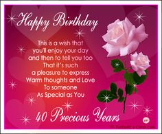 Free E Card With Roses Picture Hearts And Verse Twinkly Stars Birthday Cards
