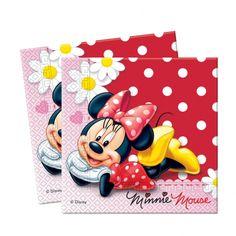 'Minnie Mouse Polka Dot' Napkins 20pack £2.49