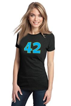 THE ANSWER IS 42 Ladies T-shirt / Funny Nerd Humor Geek Tee