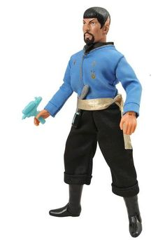 Star Trek: The Original Series: Retro Cloth Action Figures: Mirror Mirror Spock Mirror Universe, Spock, Star Trek, Action Figures, Costumes, Mirror Mirror, The Originals, Stars, Retro