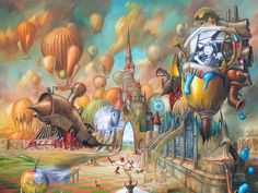 Jaroslaw Jasnikowski surrealismo desde Polonia - Taringa!