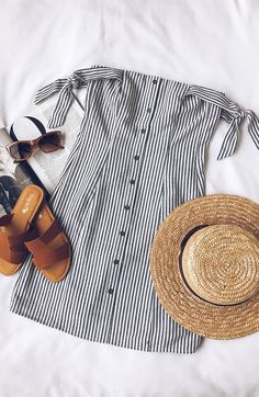 Need this outfit for my next beach vacation! #lovelulus #vacation #fashion #beach