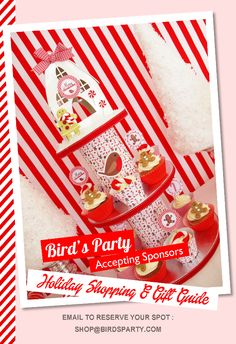 Bird's Party Holiday Shopping & Gift Guide 2014 - Now accepting sponsors!! #Holidays #Christmas #GiftGuide #Shopping #PartyIdeas