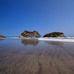 Wharaiki Beach, Golden Bay, NZ.