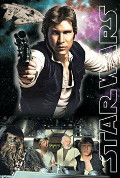 3Dポストカード スター・ウォーズ オリジナル・トリロジー Han Solo