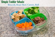 Toddler Meal Ideas.  Easy & Simple.