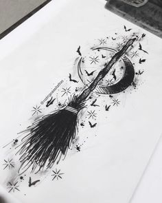Bruja tattoo diseño to make temporary tattoo crafts ink tattoo tattoo diy tattoo stickers Wolf Tattoos, Finger Tattoos, Body Art Tattoos, New Tattoos, Anime Tattoos, Tatoos, Arrow Tattoos, Friend Tattoos, Tattoo Sketches