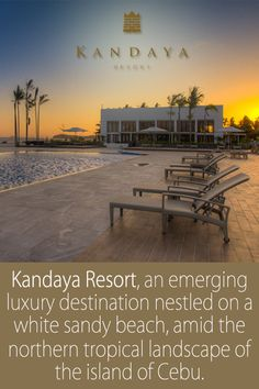 With 22 villas and 18 contemporary styled rooms and suites, KANDAYA provides you an intimate and personalized opportunity to recharge and rejuvenate while enjoying a retreat from the pressure of every day challenges. - For inquiries and reservations, visit -http://www.asiancities.com/cebu_resortshotels