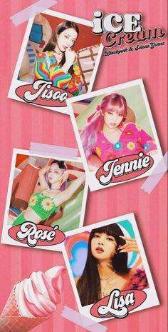 Lisa Blackpink Wallpaper, Cream Wallpaper, Pink Wallpaper Iphone, Mobile Wallpaper, Wallpaper Wallpapers, Lisa Park, Blackpink Poster, Cream Aesthetic, Blackpink Video