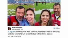 TEXANS FAN WINS BIG AFTER FLIGHT CANCELLED BY ONLINE PRANKSTER  Should you share personal information on the Internet for everyone to see? Conventional wisdom says no, but Keri Lumm shares a story that might change your thinking.  http://itsogs.com/2014/12/texans-fan-wins-big-after-flight-cancelled-by-online-prankster/
